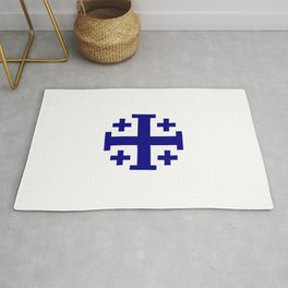 Jerusalem Cross 11 Rug