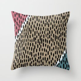 Raining pattern Throw Pillow