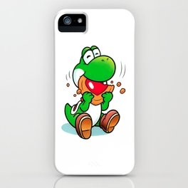 Yoshi And Cookie iPhone Case