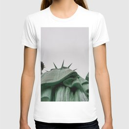 A Lady in green - NYC T-shirt