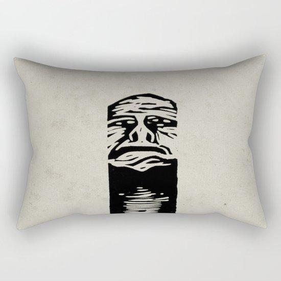 The Pit Rectangular Pillow