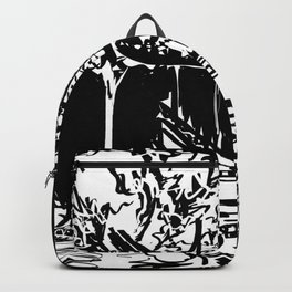Chinese Garden Backpack