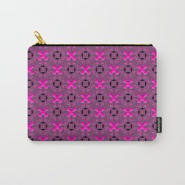 "Hot Pink ""X"" Carry-All Pouch"