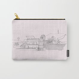 Where I Want to Be Carry-All Pouch