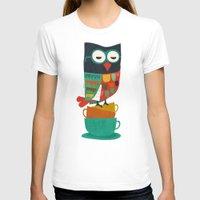 budi T-shirts featuring Morning Owl by Picomodi
