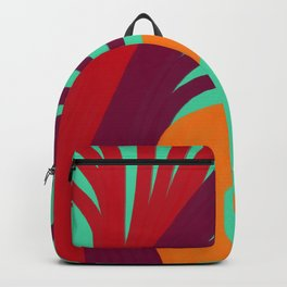Triplets - Turquoise Green Backpack