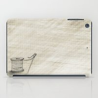 sewing iPad Cases featuring Sewing Time by Rene Robinson