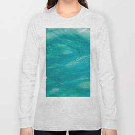 Aqua Waves Long Sleeve T-shirt