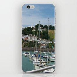 Boats in a Marina iPhone Skin