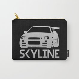 Nissan Skyline GT-R - silver - Carry-All Pouch
