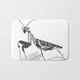 Praying Mantis Bath Mat