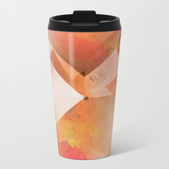Abstract 2017 018 Metal Travel Mug