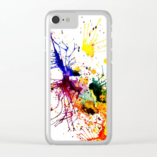 bright fantasy Clear iPhone Case