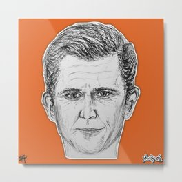 (Badass - Mel Gibson) - yks by ofs珊 Metal Print