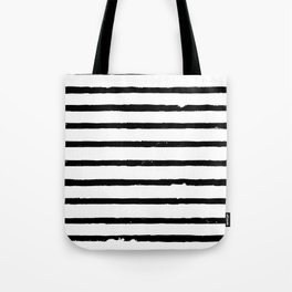 Paint Stripes Tote Bag