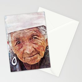 'Old Woman' Stationery Cards