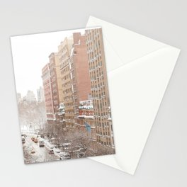 Snow Day in the Upper West Side Stationery Cards