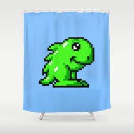 Hoi Amiga game sprite Shower Curtain