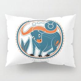 Taurus Zodiac Sign Pillow Sham