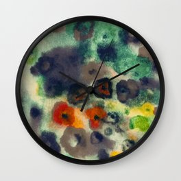flower pattern IIII Wall Clock