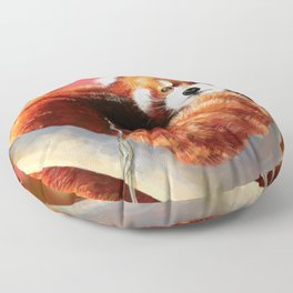 Red Panda Floor Pillow