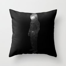 It's Lonely Out In Space Throw Pillow