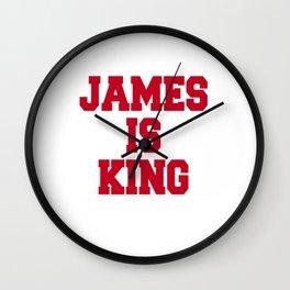 king Wall Clock