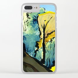 Golden Gully Clear iPhone Case