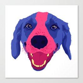 beagle - wht Canvas Print