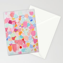 Amoebic Confetti Stationery Cards