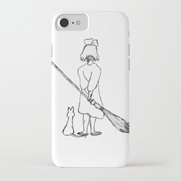 Believe in Yourself (Kiki) - Sketch iPhone Case