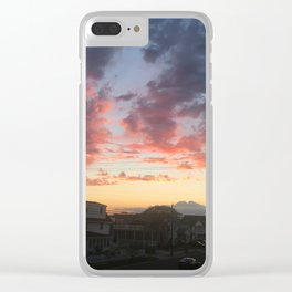 Summer Skies Clear iPhone Case