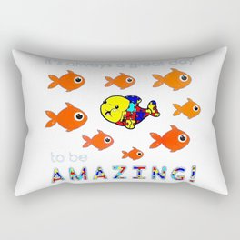 Autism It's Always A Great Day To Be Amazing T-Shirt Rectangular Pillow