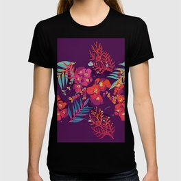 flower party T-shirt