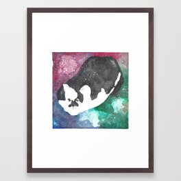 Moonpie Framed Art Print