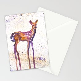 Rising Fawn Stationery Cards