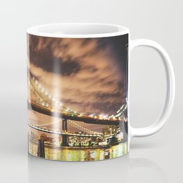 manhattan bridge skyline Coffee Mug