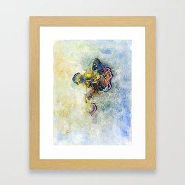 Graffiti Tangle Framed Art Print