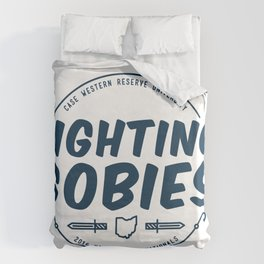 Fighting Gobies Nationals - Blue Duvet Cover