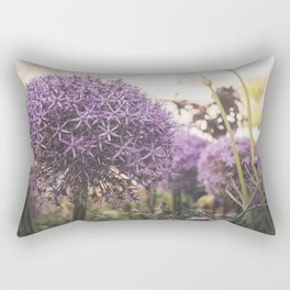 purple decorative garlic Rectangular Pillow