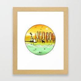 Nature v2 Framed Art Print