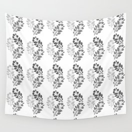 Metal Floral Wall Tapestry