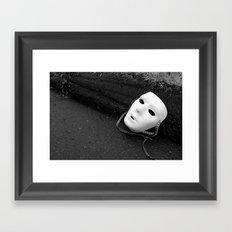 The Mask We Hide Behind VI Framed Art Print