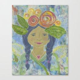 Angel Warrior Maritza Canvas Print