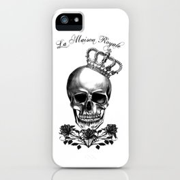 The Skull Queen of Roses iPhone Case