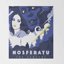 Nosferatu the Vampyre (1979) Throw Blanket
