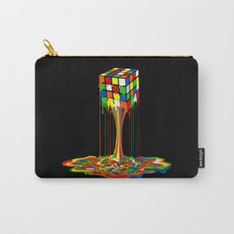 Rainbow melted rubix cube iPhone 4 5 6 7 8, pillow case, mugs and tshirt Carry-All Pouch