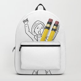 Rocker girl Backpack