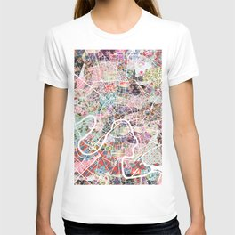Moscow map T-shirt