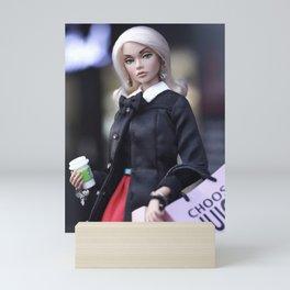 Shopaholic Mini Art Print